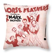Evryone Says I Love You Throw Pillow