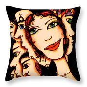 Ex-boyfriends Throw Pillow