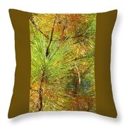 Exalted Executed Erection Throw Pillow