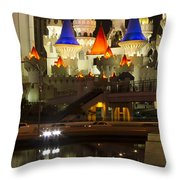 Excalibur Reflection Throw Pillow
