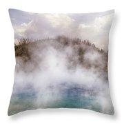 Excelsior Geyser Throw Pillow
