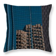 Exchange Place Throw Pillow