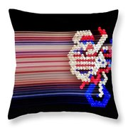 Excitebrite Acceleration Throw Pillow