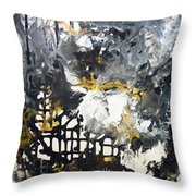 Excitement3 Throw Pillow