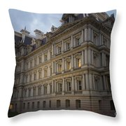 Executive Office Building Throw Pillow