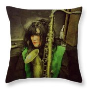 Exene  Throw Pillow