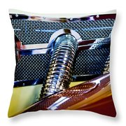 Exhaust Throw Pillow