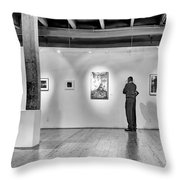 Exhibition Throw Pillow