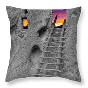 Exist Strategy Throw Pillow