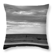 Existential Contemplation Throw Pillow