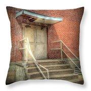 Exit 4525 Throw Pillow