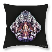 Exit Angel Wings Throw Pillow