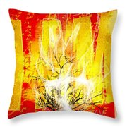 Exodus I Am Throw Pillow