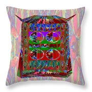 one flew over the cuckoo's nest Exotic Bird House   exquisite from NavinJOSHI Throw Pillow