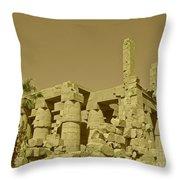 Exotic Egypt Throw Pillow