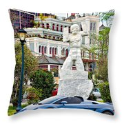 Exotic New Orleans Throw Pillow