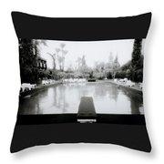 Exotic Oasis  Throw Pillow