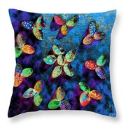Exotic Shells 1 Throw Pillow