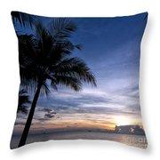 Exotic Sunrise 02 Throw Pillow
