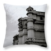 Exotic Udaipur Throw Pillow