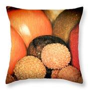 Exotique 1 Throw Pillow