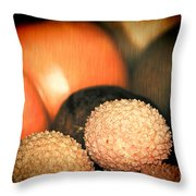 Exotique 3 Throw Pillow