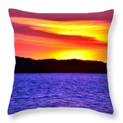 Expecting A Great Future Throw Pillow