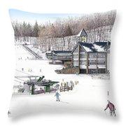 Experience Hidden Valley Throw Pillow