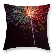 Exploding Colors Throw Pillow by Garry Gay