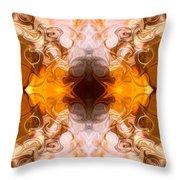 Exploding Ideas Abstract Pattern Artwork By Omaste Witkowski Throw Pillow