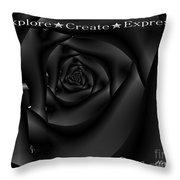 Explore Create Express Throw Pillow