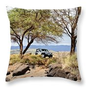 Exploring Kauai Throw Pillow