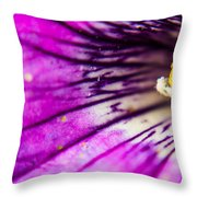 Explosion Throw Pillow by Tyson Kinnison