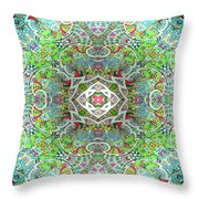 Exponential Growth Of An Abstract Thought Throw Pillow