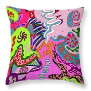 Expression Fantastic Throw Pillow