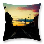 Expression Throw Pillow by John Magnet Bell