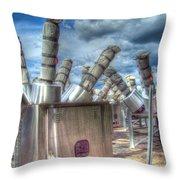 Exterminate - Exterminate Throw Pillow by MJ Olsen