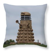 Exterminate  Throw Pillow