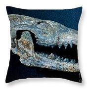 Extinct Gray Fox Throw Pillow