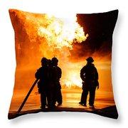 Extinguish Throw Pillow