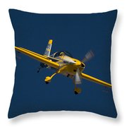 Extra Flugzeugbau Throw Pillow