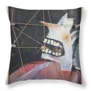 Extraction Throw Pillow