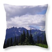Extraordinary Heights Throw Pillow