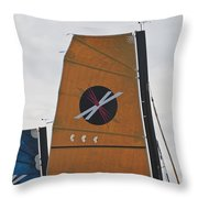 Extreme 40 Sail Detail Throw Pillow