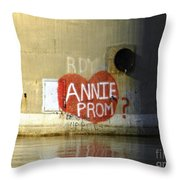 Extreme Measures Throw Pillow