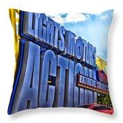 Extreme Stunt Show 1 Throw Pillow