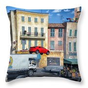 Extreme Stunt Show 3 Throw Pillow