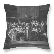 Extreme Unction Throw Pillow