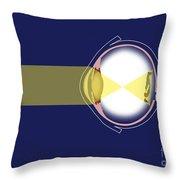 Eye Diagram Throw Pillow