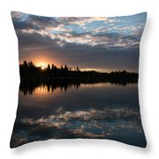 ...eye In The Sky Throw Pillow